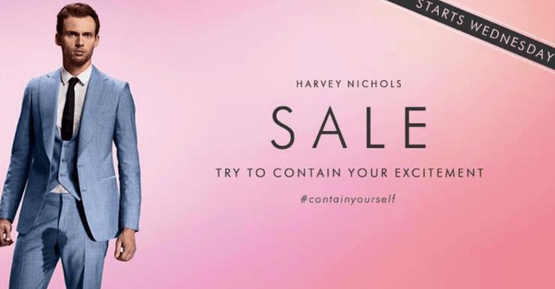 Harvey Nichols Contain Yourself