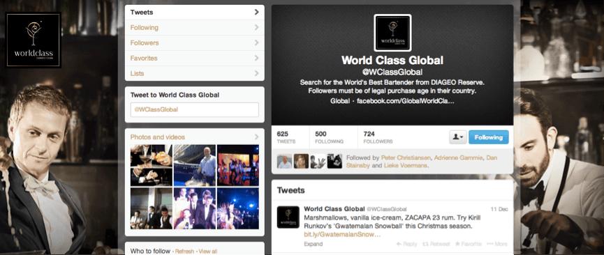 Flock Associates - Diageo World Class 2013 Twitter