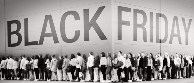 Black Friday Advertising Flock