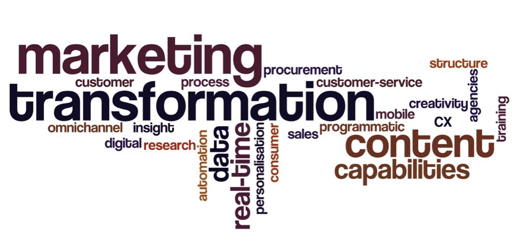 marketing transformation trends