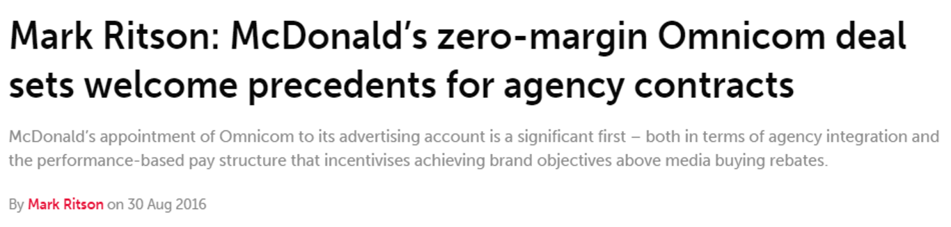 McDonald's Headline