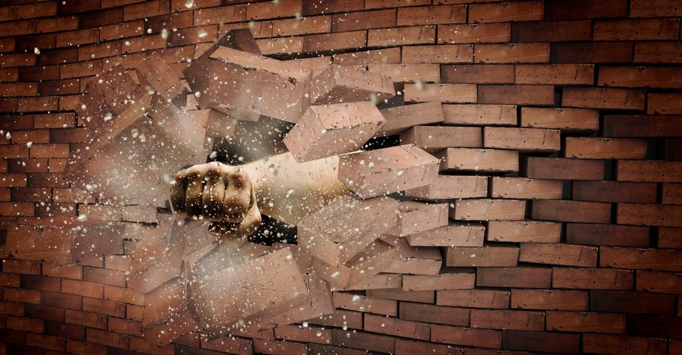 Tearing Down The Walls But Not One That Matters
