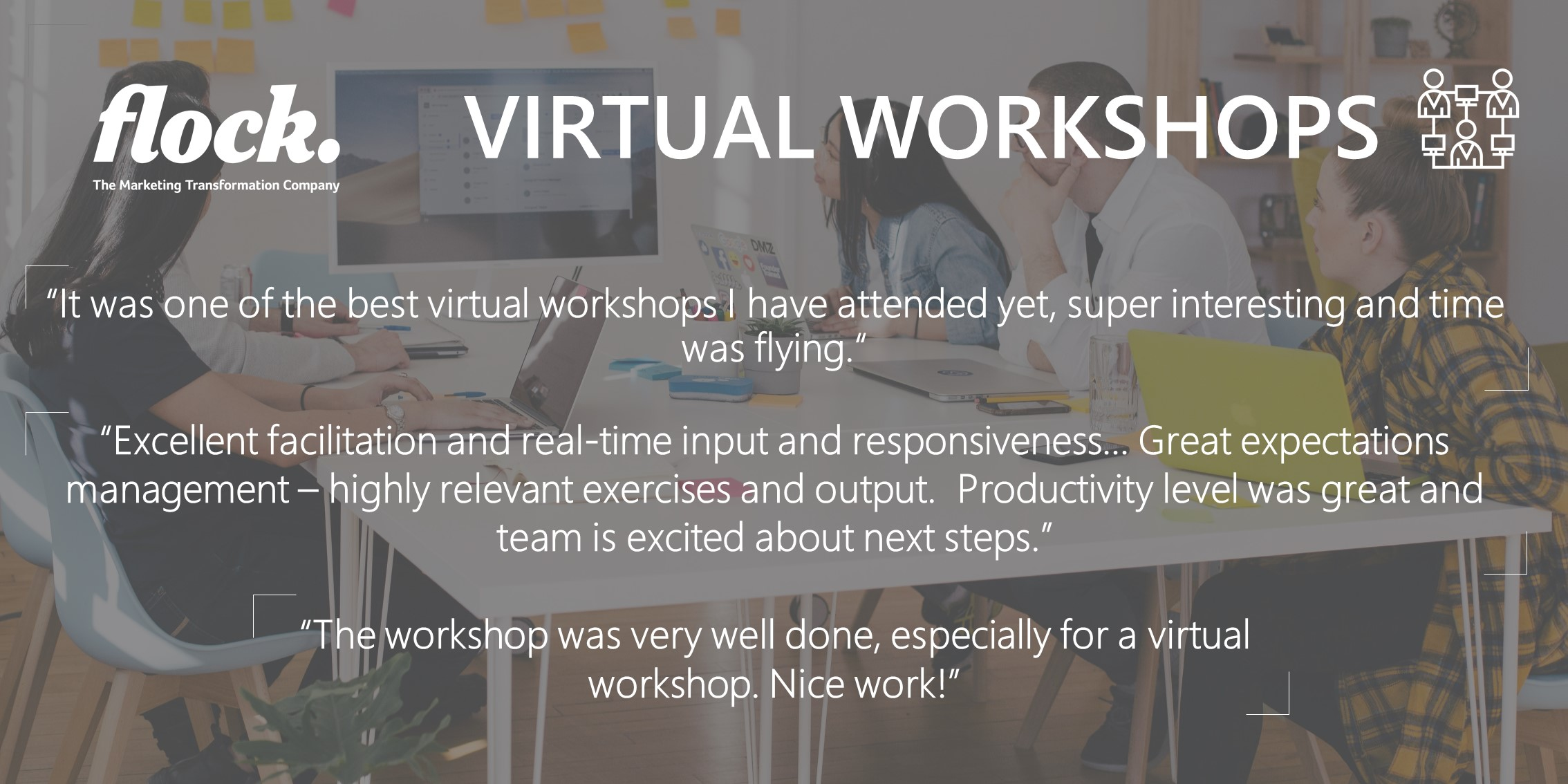 Flock Virtual Workshops